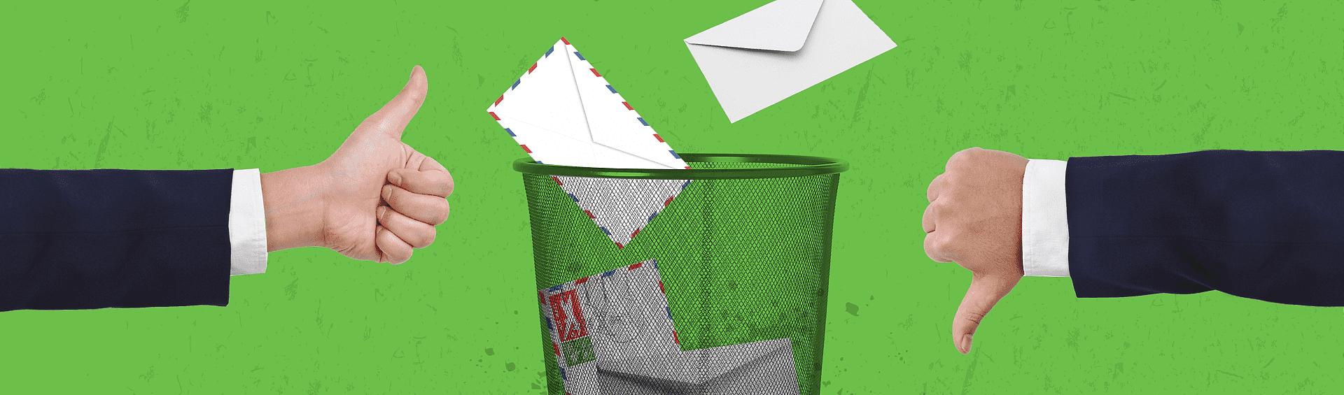 Ваши письма попадают в спам. Что делать?