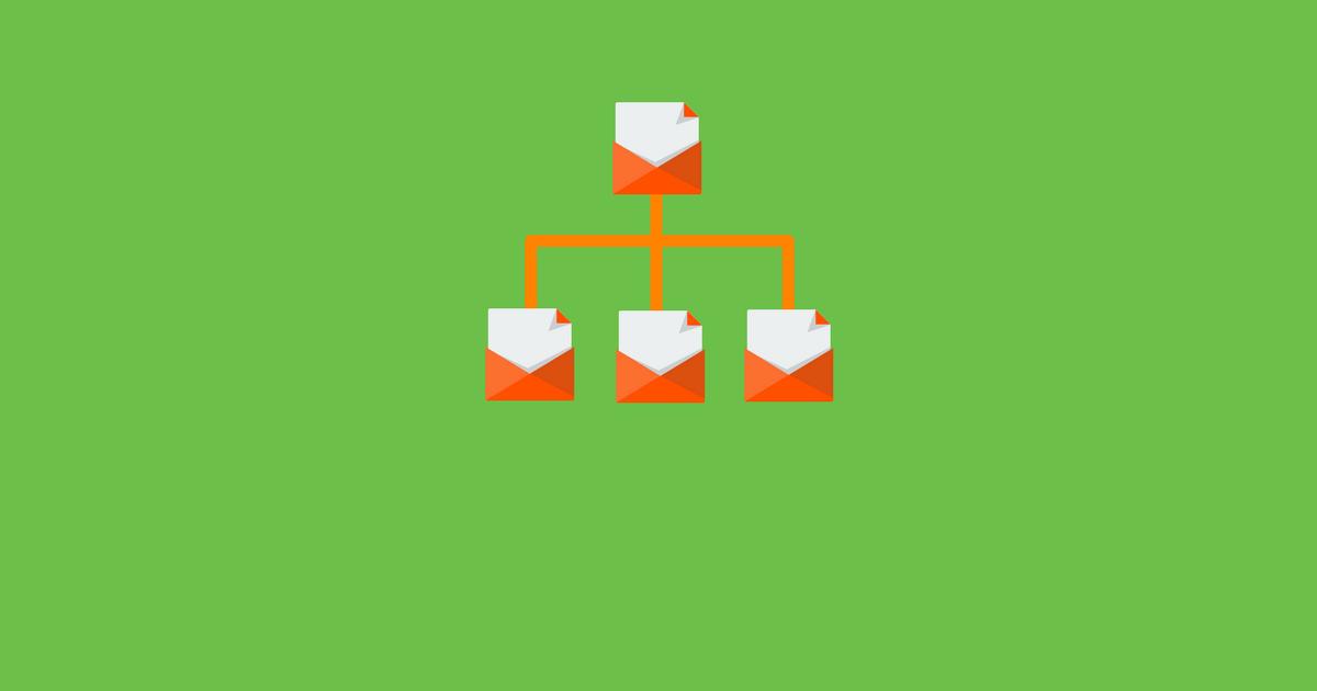 Как работают цепочки писем