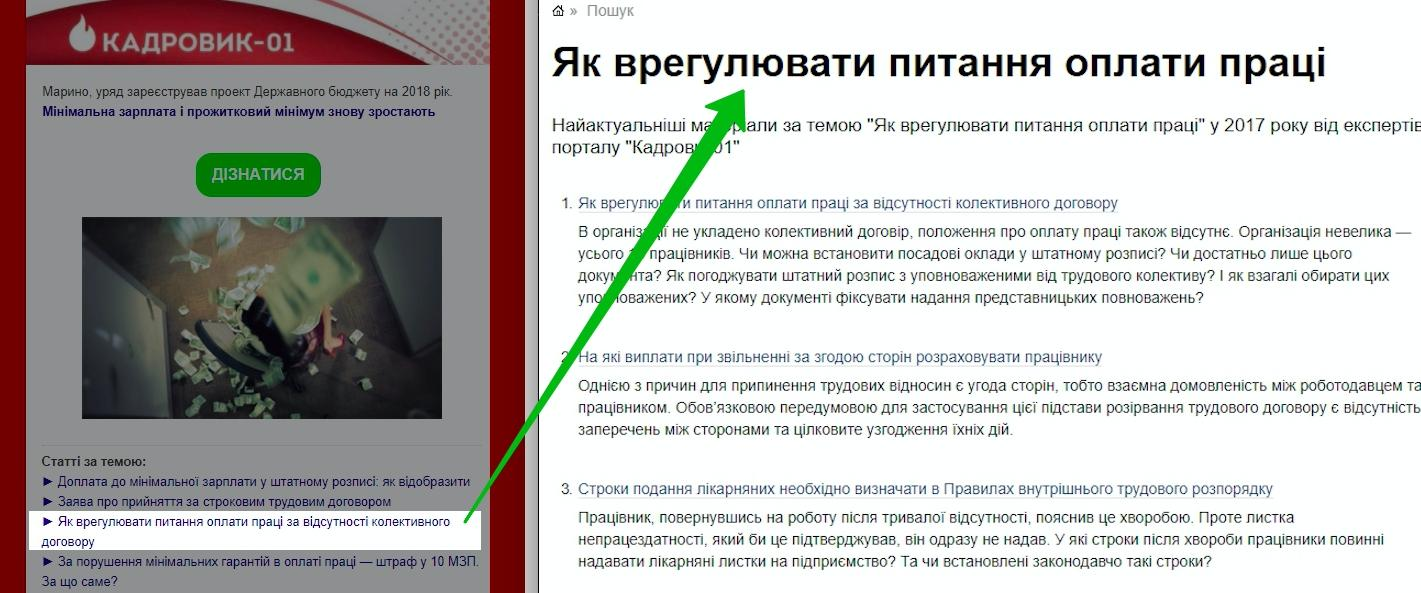 Рассылка Кадровик-01