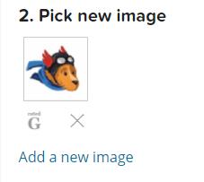 Выбор нового аватара
