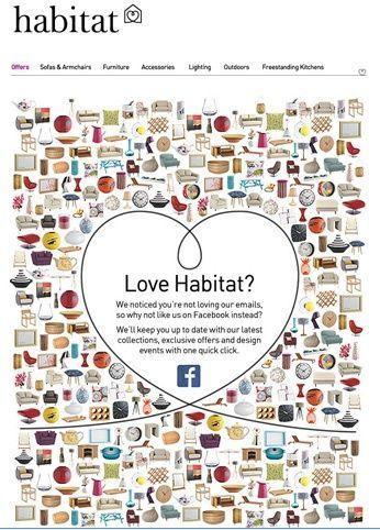 Реактивационное письмо от Habitat