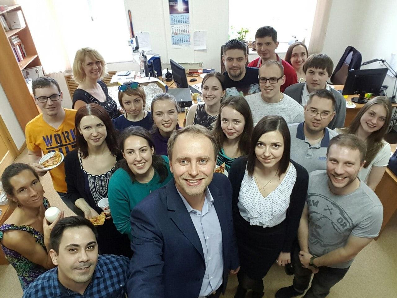 Андрей Фадеичев вместе с командой eTXT