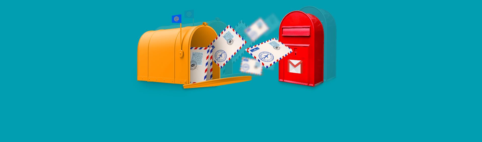 Как настроить переадресацию почты
