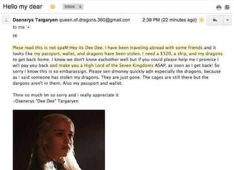 Письмо от Дайнерис Таргариен