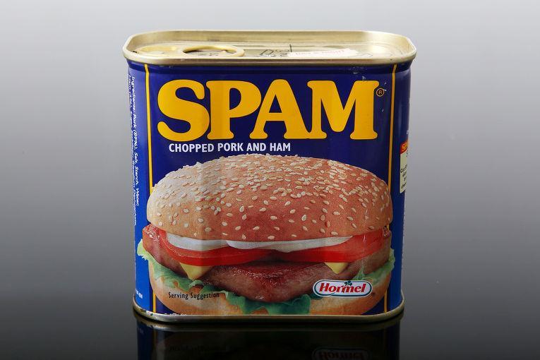 Спам — название свиных консервов