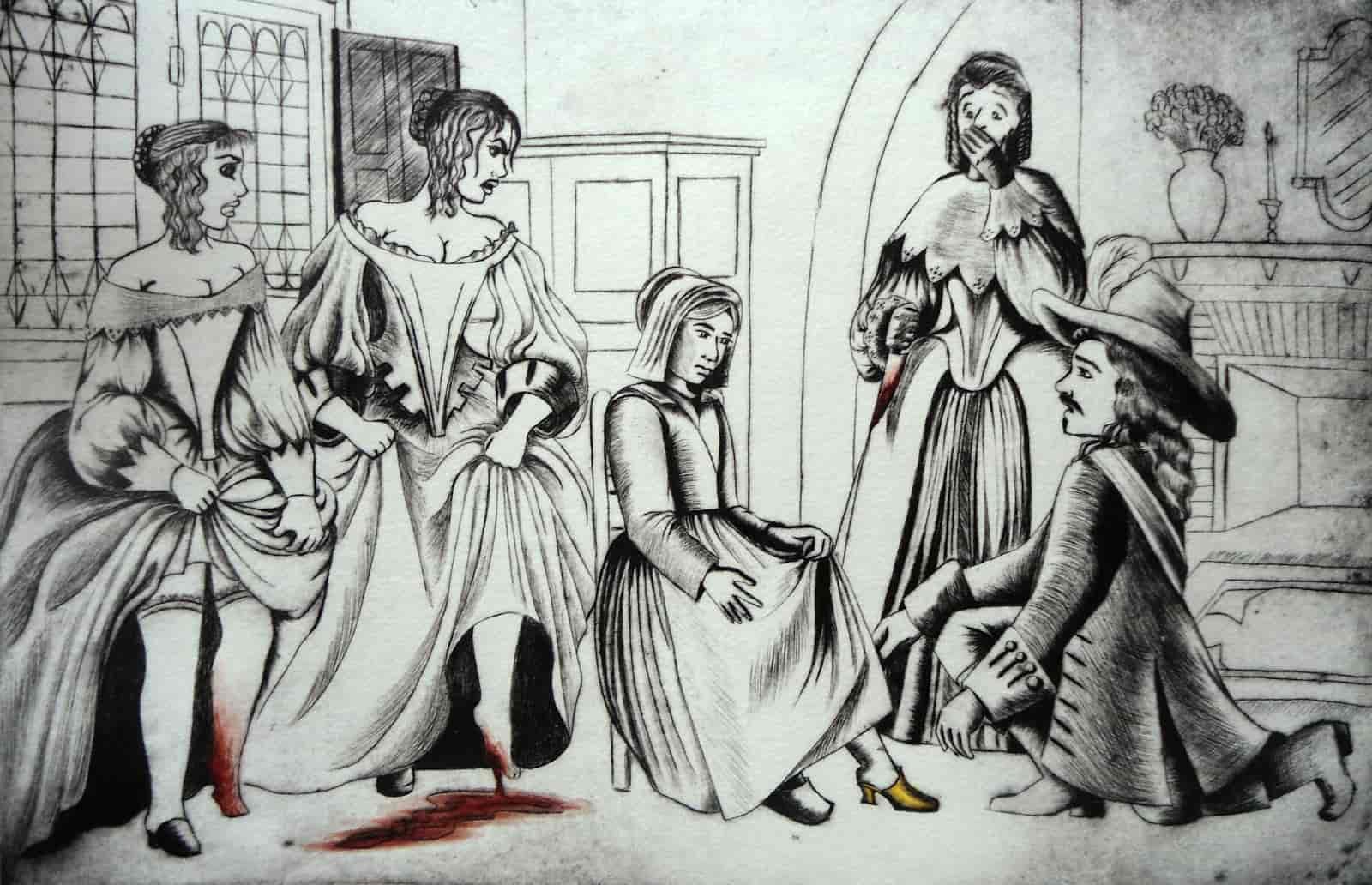 Иллюстрация к «Золушке».