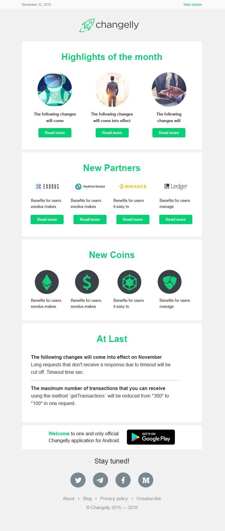 Платформа по обмену криптовалюты