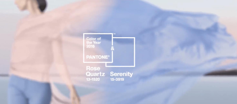 Цвета года по версии Pantone в 2016 году