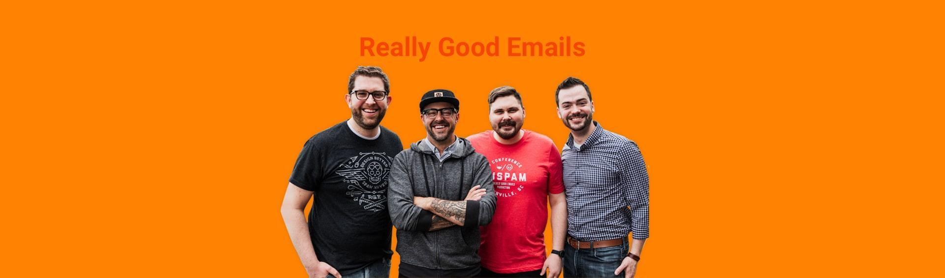 Really Good Emails отрендах вдизайне иemail-маркетинге снунчаками