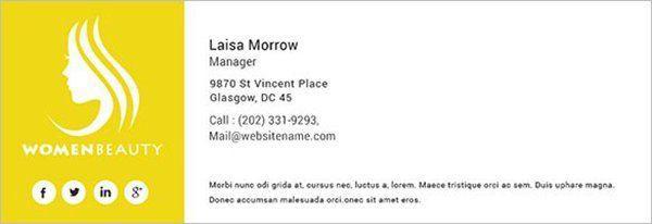 Email Signature Rescue используют чёрные иконки, которые хорошо сочетаются с их цветовой палитрой