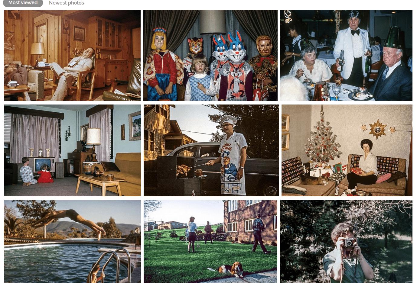 Подборка винтажных фото из раздела «Семейная жизнь»