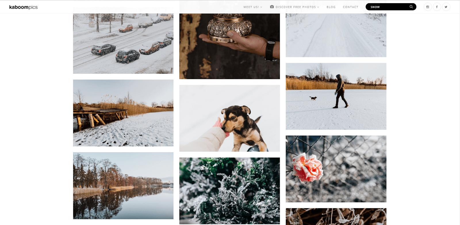 Подборка фотографий по запросу «снег»