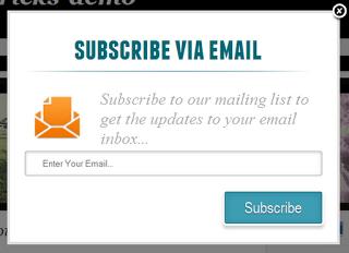 Такую форму подписки можно бесплатно сделать на Blogger