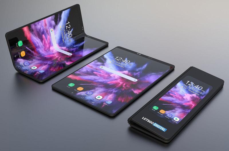 Самый популярный складной смартфон — Samsung Galaxy Fold