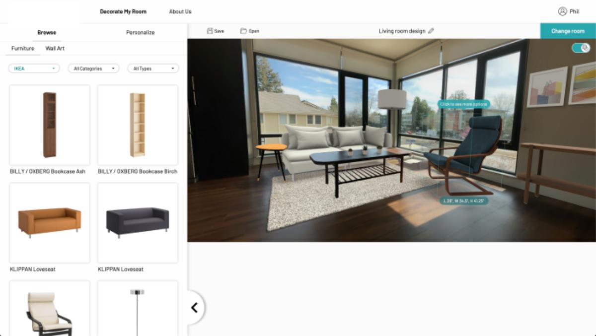 Как работает новое решение 3d-примерки мебели