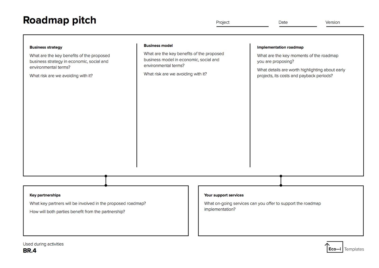 Шаблон roadmap для руководства