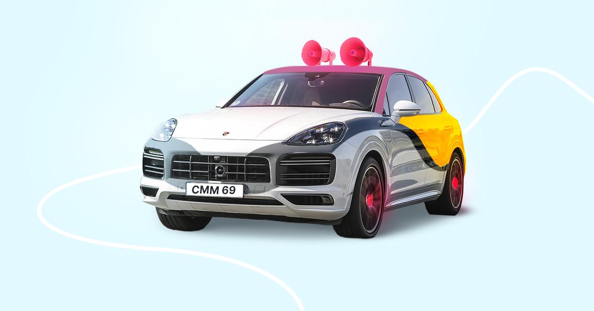 Сможете ли вы наSMMить на Porsche Cayenne?