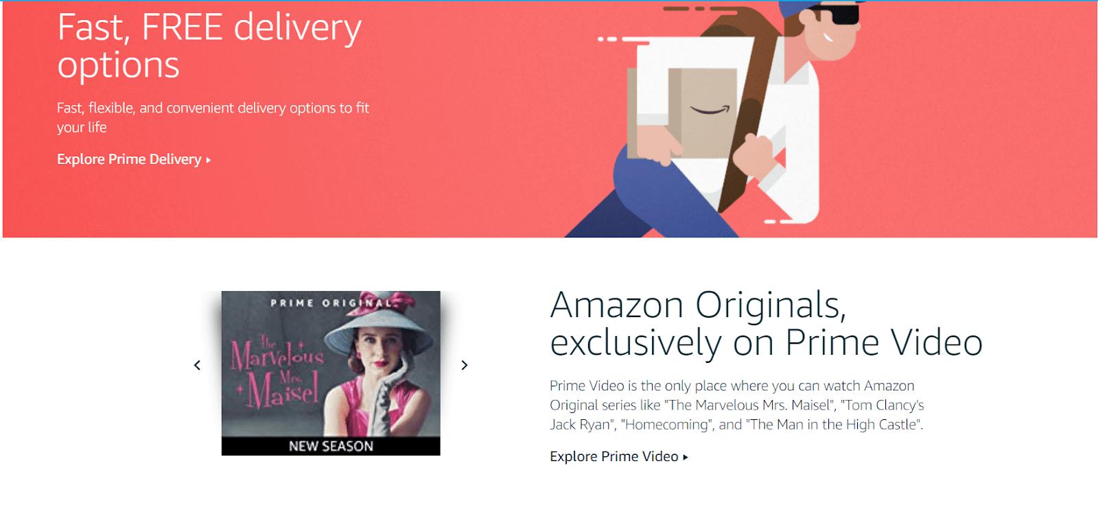 Amazon Prime включает подписку на сериалы от студии Amazon. Это, конечно, не HBO или Netflix, но и у них есть немало хороших проектов
