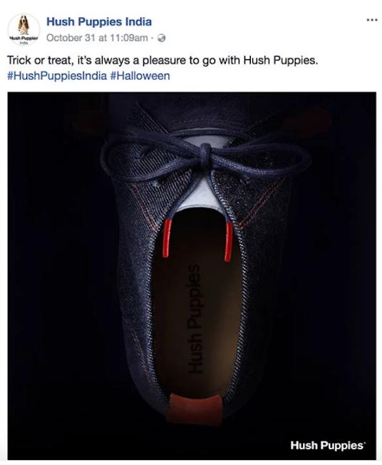 Туфля-вампир от производителя обуви Hush Puppies. Ну очень колоритная картинка