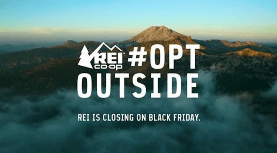 Компания REI (продавец снаряжения) на Чёрную пятницу закрыла все магазины и сайт