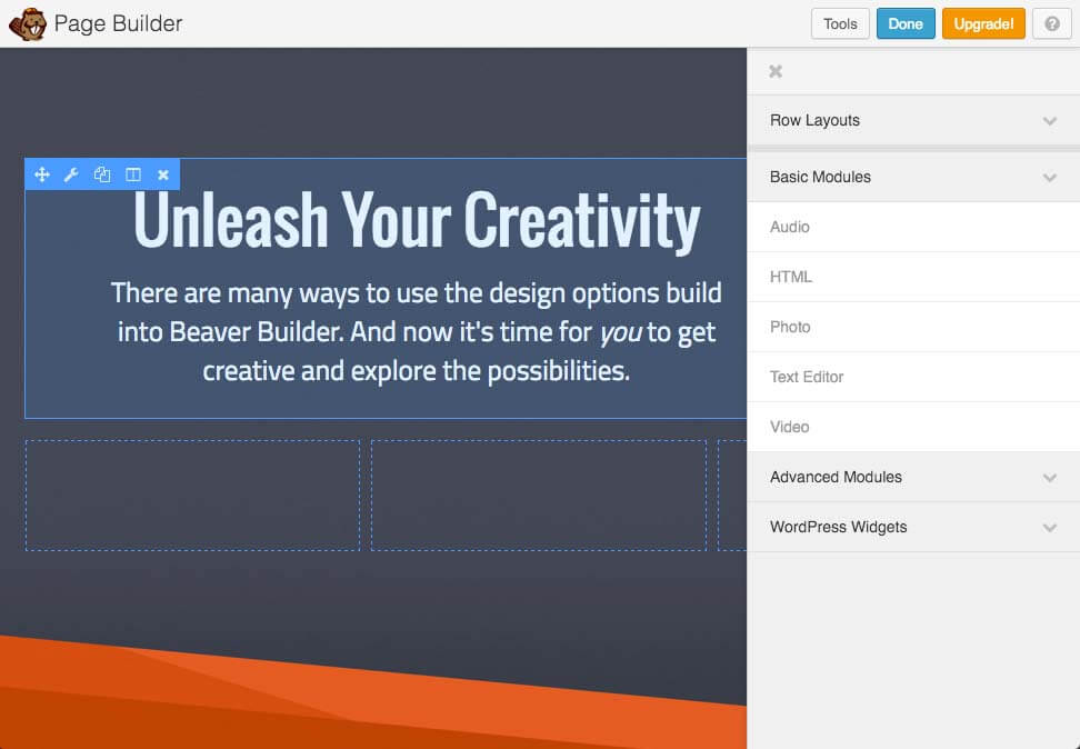 Плагин для WordPress Beaver Builder