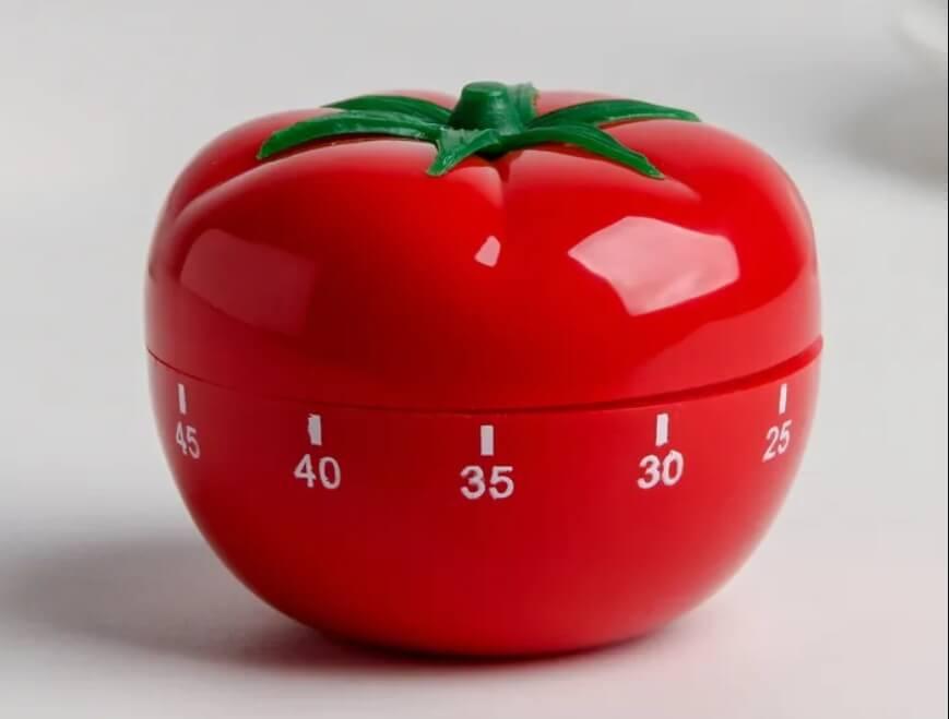 Таймер в форме помидора