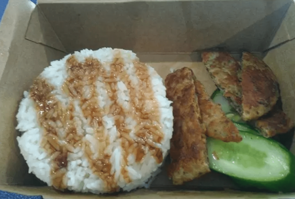 McDonald's, Вьетнам, свинина на гриле с рисом