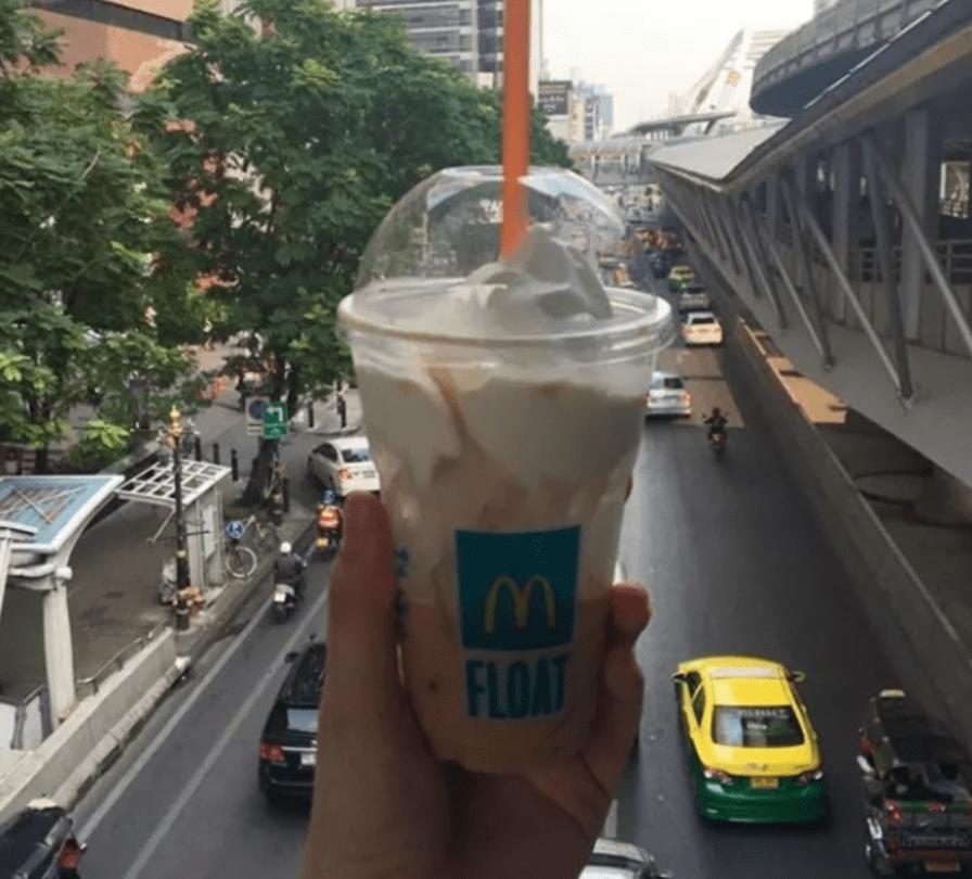 McDonald's, Тайвань, чай со взбитыми сливками