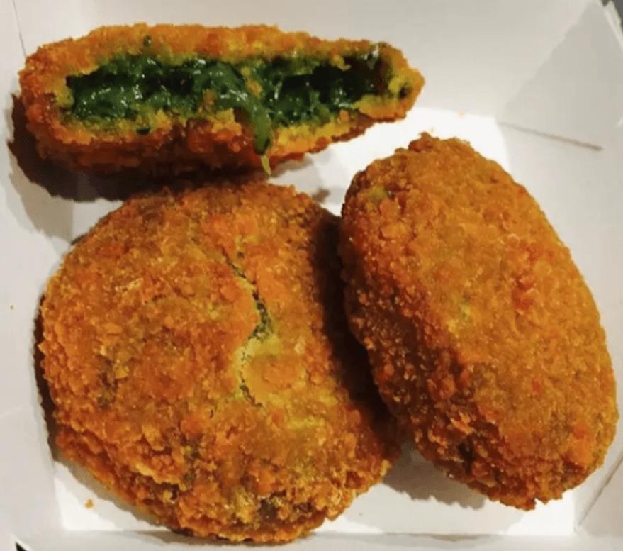 McDonald's, Италия, шарики со шпинатом и рикоттой