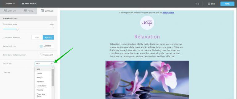 Customizing link colors