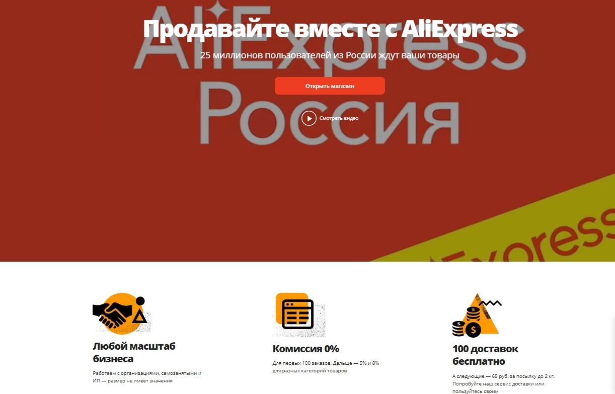 Условия сотрудничества по дропшиппингу с AliExpress