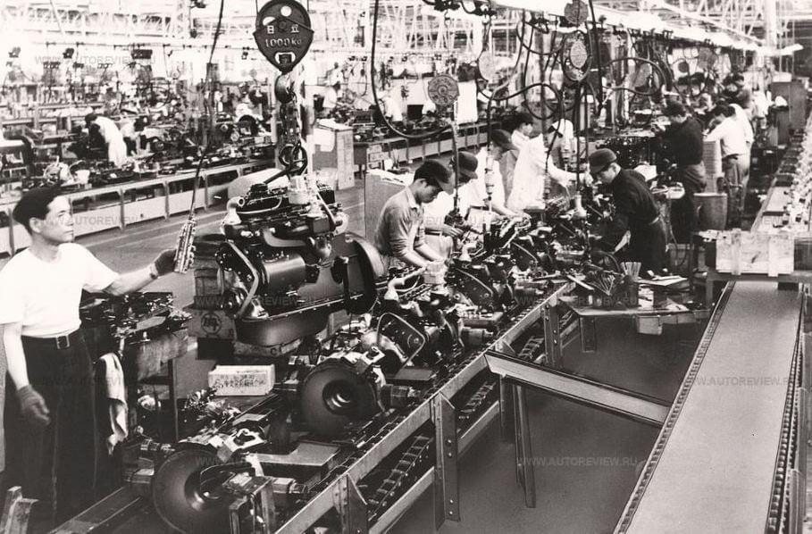 Система бережливого производства на заводе Toyota Motor