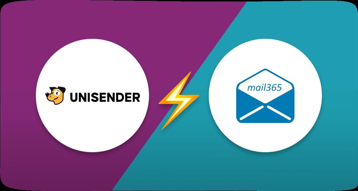 Сравнение Mail365 и Unisender