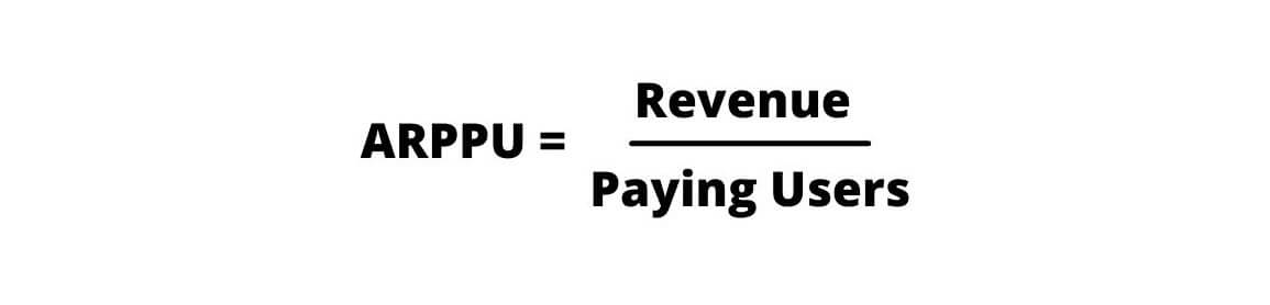 Формула расчета ARPPU