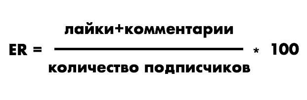 Формула ER